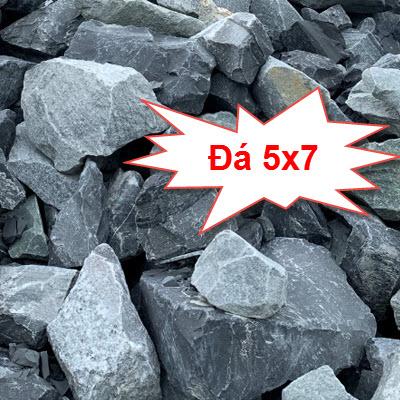 Đá 5x7 xây dựng