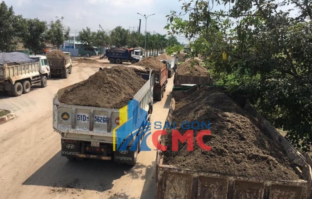VLXD Sài Gòn bán cát san lấp giá rẻ uy tín tại tphcm