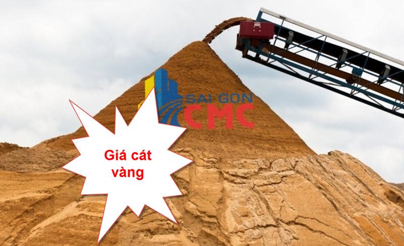 Giá cát vàng tại tphcm