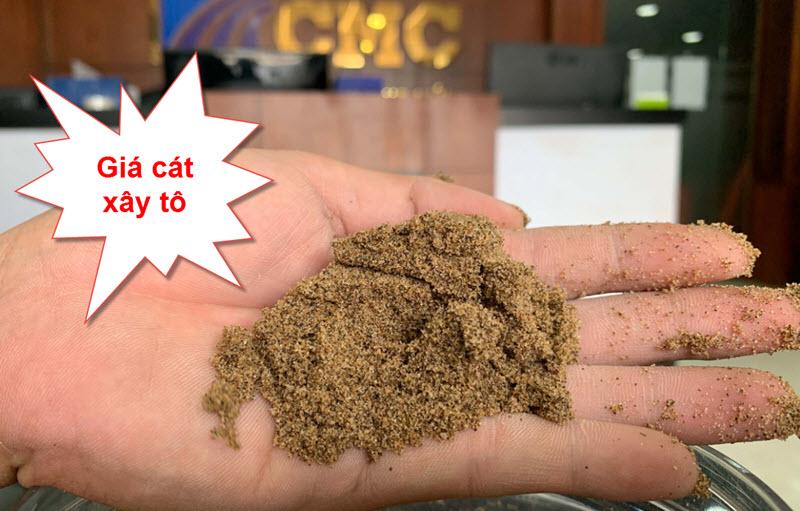 Giá cát xây tô mới nhất