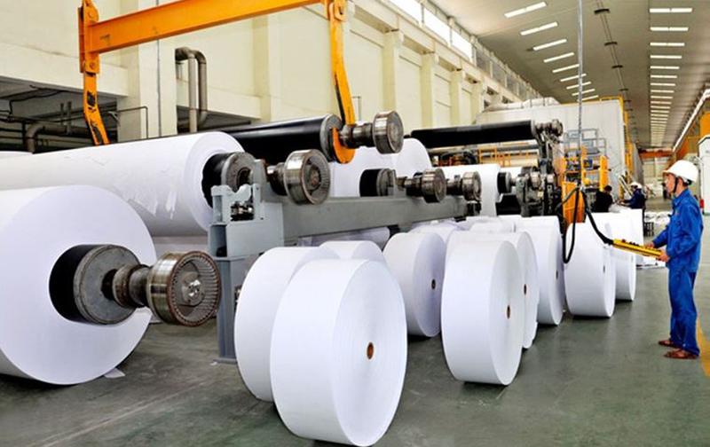 Trong sản xuất giấy, bột đá là một trong những nguyên liệu quan trọng