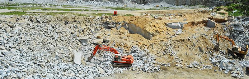 Mở đá xây dựng