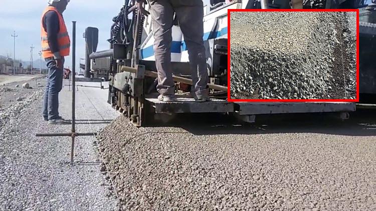 Cấp phối đá dăm gia cố xi măng kích cỡ hạt cấp phối đạt lớn nhất (Dmax) là 31.5 đến 37.5mm
