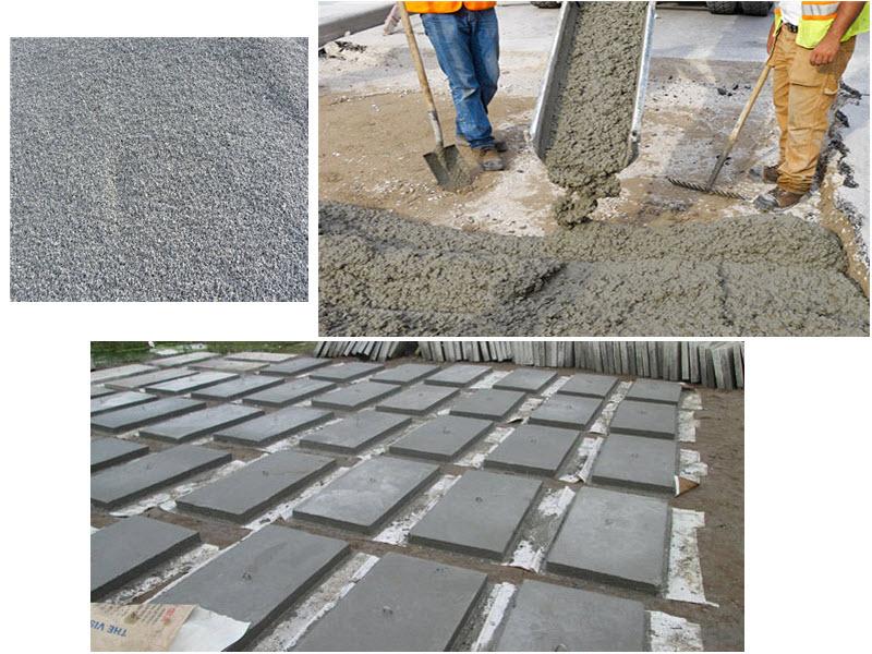 Bê tông đá mi là loại bê tông có sự kết hợp giữa xi măng, cát, nước và đá mi