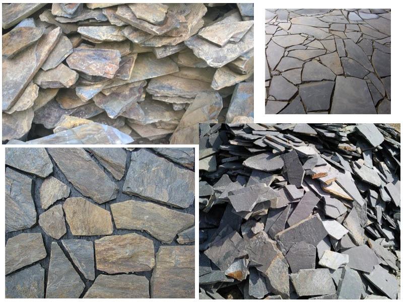 Đá rối là loại đá có kích thước không dồng nhất thường dùng để ốp tường nhà, sân vườn