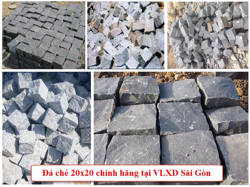 Công ty VLXD Sài Gòn chuyên cung cấp đá chẻ 20x20 chính hãng