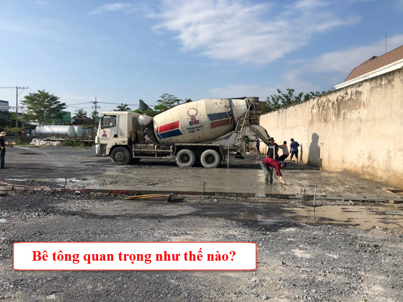 Khối lượng bê tông có thể quyết định chi phí công trình