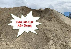 Báo giá cát xây dựng