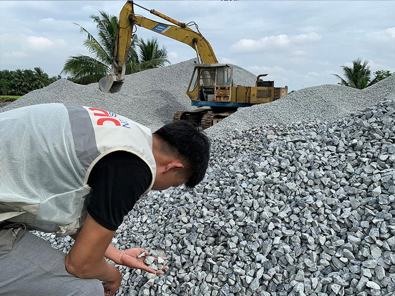 Đá xây dựng chất lượng cao